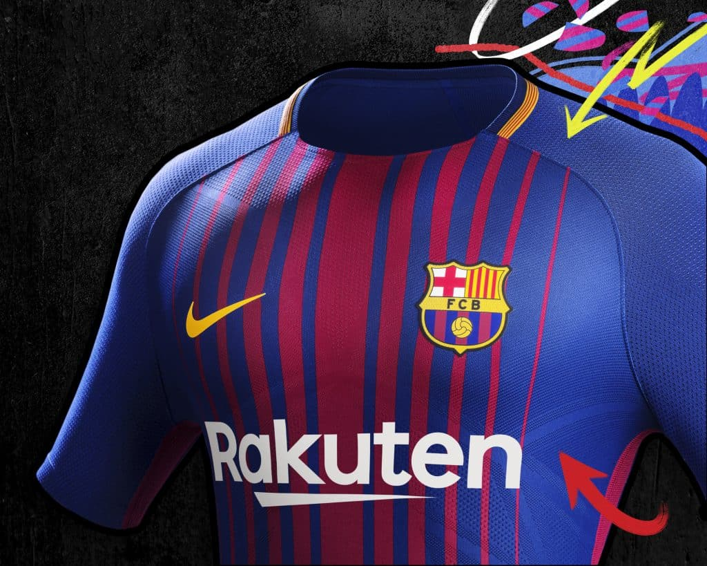 Maillot Domicile FC Barcelona achat