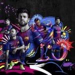 Nike dévoile les maillots du Barça version 2017-2018