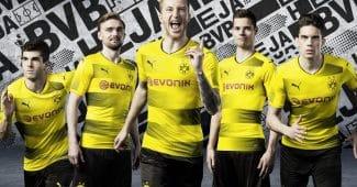 Image de l'article Les maillots du Borussia Dortmund pour la saison 2017-2018