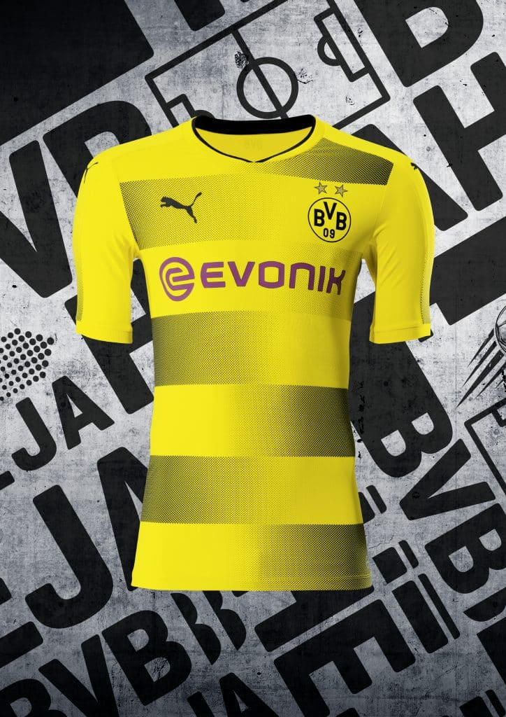 ensemble de foot Borussia Dortmund 2017