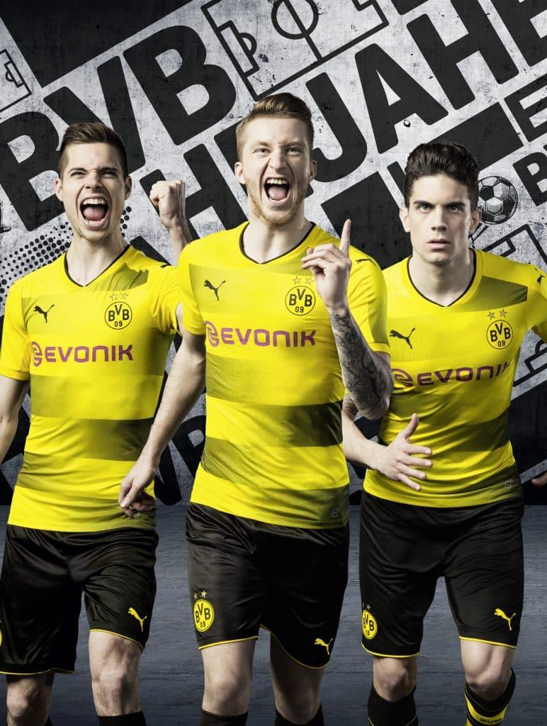 Maillot Domicile Borussia Dortmund 2018
