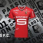 Les maillots 2017-2018 du Stade Rennais par Puma