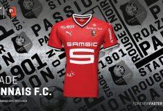 Image de l'article Les maillots 2017-2018 du Stade Rennais par Puma