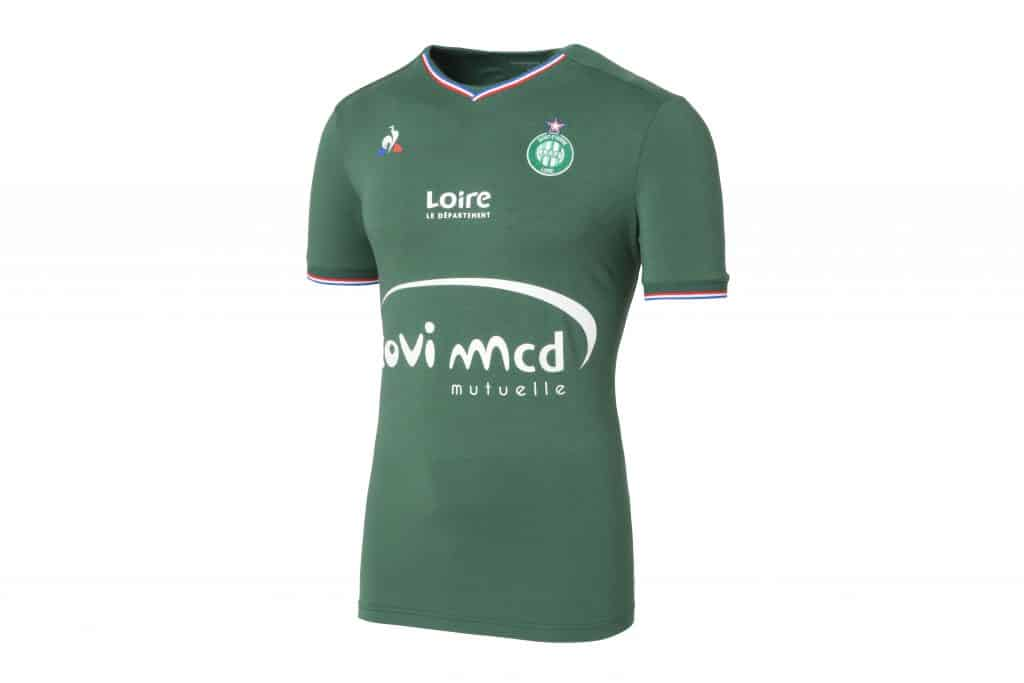 les maillots de foot 2017 2018 de l 39 as saint tienne. Black Bedroom Furniture Sets. Home Design Ideas