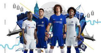 Image de l'article Les maillots 2017/2018 de Chelsea signés Nike