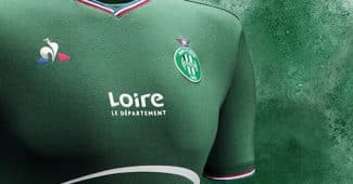 Image de l'article Les maillots 2017/2018 de l'AS Saint-Étienne