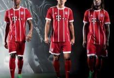 Image de l'article Les maillots du Bayern Munich pour la saison 2017-2018