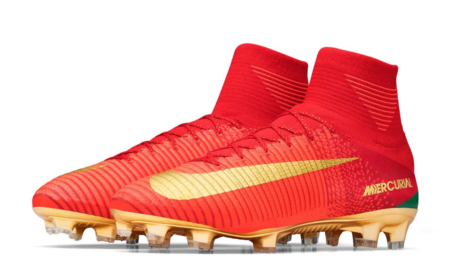 Portugal Spéciale Nike Cr7 Du Aux Une Couleurs Mercurial Pour Lance L5Aq3Rj4