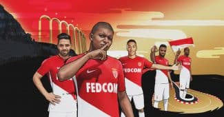 Image de l'article Les maillots 2017/2018 de l'AS Monaco
