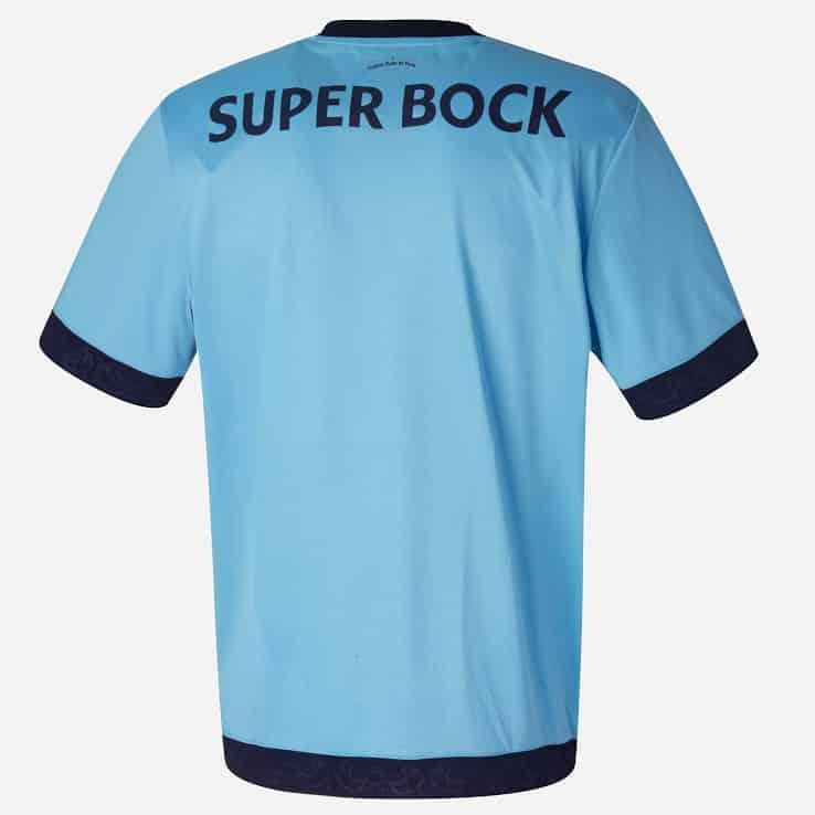 c12220f965e Le logo Super Bock demeure également présent au dos du maillot