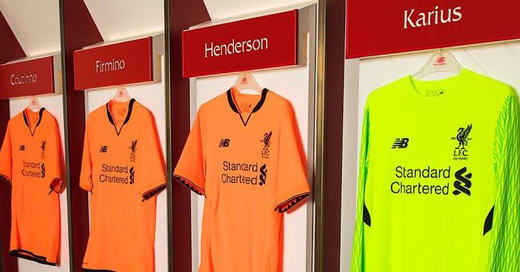 Maillot Extérieur Liverpool Tenue de match