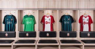 Image de l'article Les maillots 2017-2018 de Southampton par Under Armour