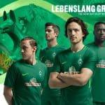 Les maillots du Werder Brême pour la saison 2017-2018