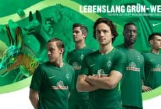 Image de l'article Les maillots du Werder Brême pour la saison 2017-2018
