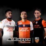 Les maillots 2017/2018 du FC Lorient par Kappa!