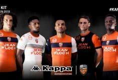 Image de l'article Les maillots 2017/2018 du FC Lorient par Kappa !