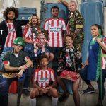Umbro dévoile les maillots du PSV Eindhoven pour la saison 2017/2018