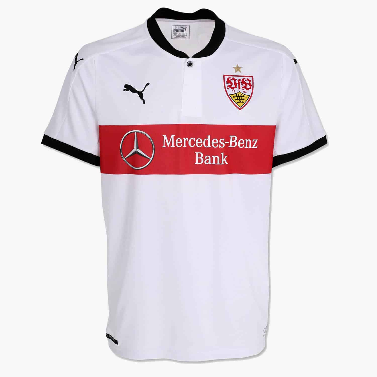 puma d voile le nouveau maillot domicile du vfb stuttgart. Black Bedroom Furniture Sets. Home Design Ideas
