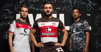 Image de l'article Les sublimes maillots de St.Pauli 2017/18 par Under Armour