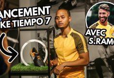 Image de l'article Vlog#13 – On a testé la Nike Tiempo 7 avec Sergio Ramos et Vinsky à Madrid