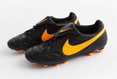 Image de l'article Un coloris Noir/Orange pour la Nike Tiempo Premier 2.0