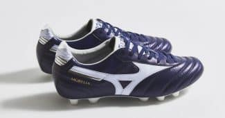 Image de l'article Un nouveau coloris Peacoat/blanc pour la Mizuno Morelia II « Made In Japan »