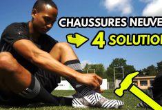 Image de l'article Comment bien «casser» ses chaussures de foot neuves pour les rendre plus souples