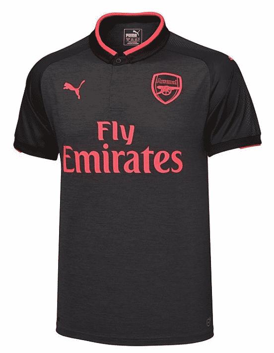 Maillot THIRD Arsenal nouveau