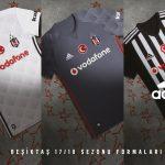 Les maillots du Besiktas pour la saison 2017-2018
