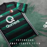 Les maillots du Feyenoord Rotterdam pour 2017-2018