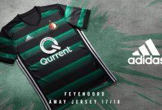 Image de l'article Les maillots du Feyenoord Rotterdam pour 2017-2018