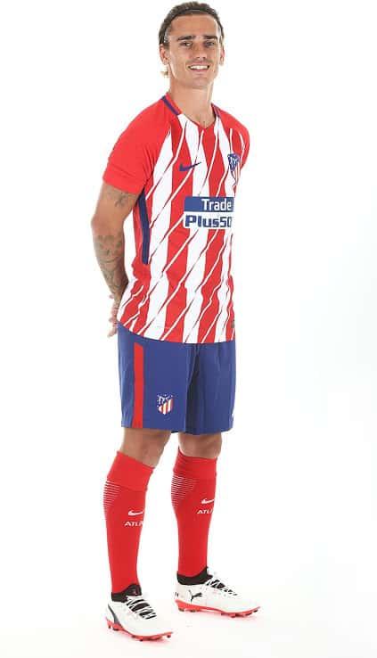 ensemble de foot Atlético de Madrid 2018