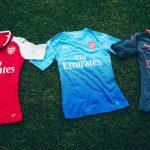 Puma dévoile les maillots d'Arsenal pour la saison 2017/18