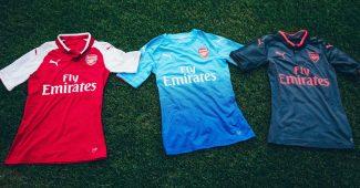 Image de l'article Puma dévoile les maillots d'Arsenal pour la saison 2017/18