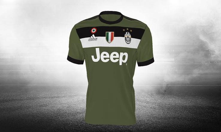 Maillot Extérieur Juventus noir