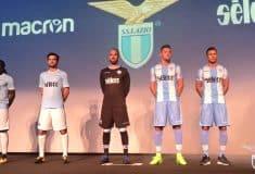 Image de l'article Les maillots de la Lazio Rome pour 2017-2018