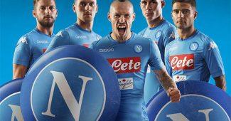 Image de l'article Les maillots du SSC Napoli 2017/2018 par Kappa
