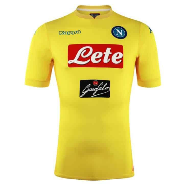 Maillot Extérieur Napoli Tenue de match