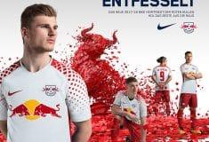 Image de l'article Les maillots du RB Leipzig pour la saison 2017-2018