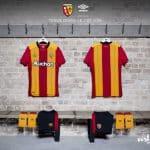 Le RC Lens dévoile ses maillots pour 2017-2018