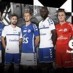 Les maillots du Racing Club de Strasbourg pour la saison 2017/2018 par Hummel