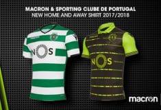 Image de l'article Les maillots du Sporting Portugal pour 2017-2018