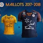 Les maillots de Montpellier pour la saison 2017/2018 par Nike