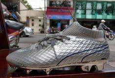 Image de l'article Griezmann, ambassadeur du nouveau coloris argenté de la Puma One