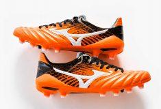 Image de l'article Un nouveau coloris «Orange/Noir» pour la Mizuno Morelia Neo