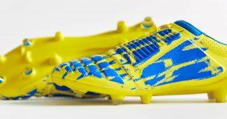 Image de l'article Le coloris jaune/bleu de l'Ux-Accuro d'Umbro est sorti