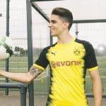 Puma dévoile le maillot du Borussia Dortmund pour la Ligue des champions 2017/2018
