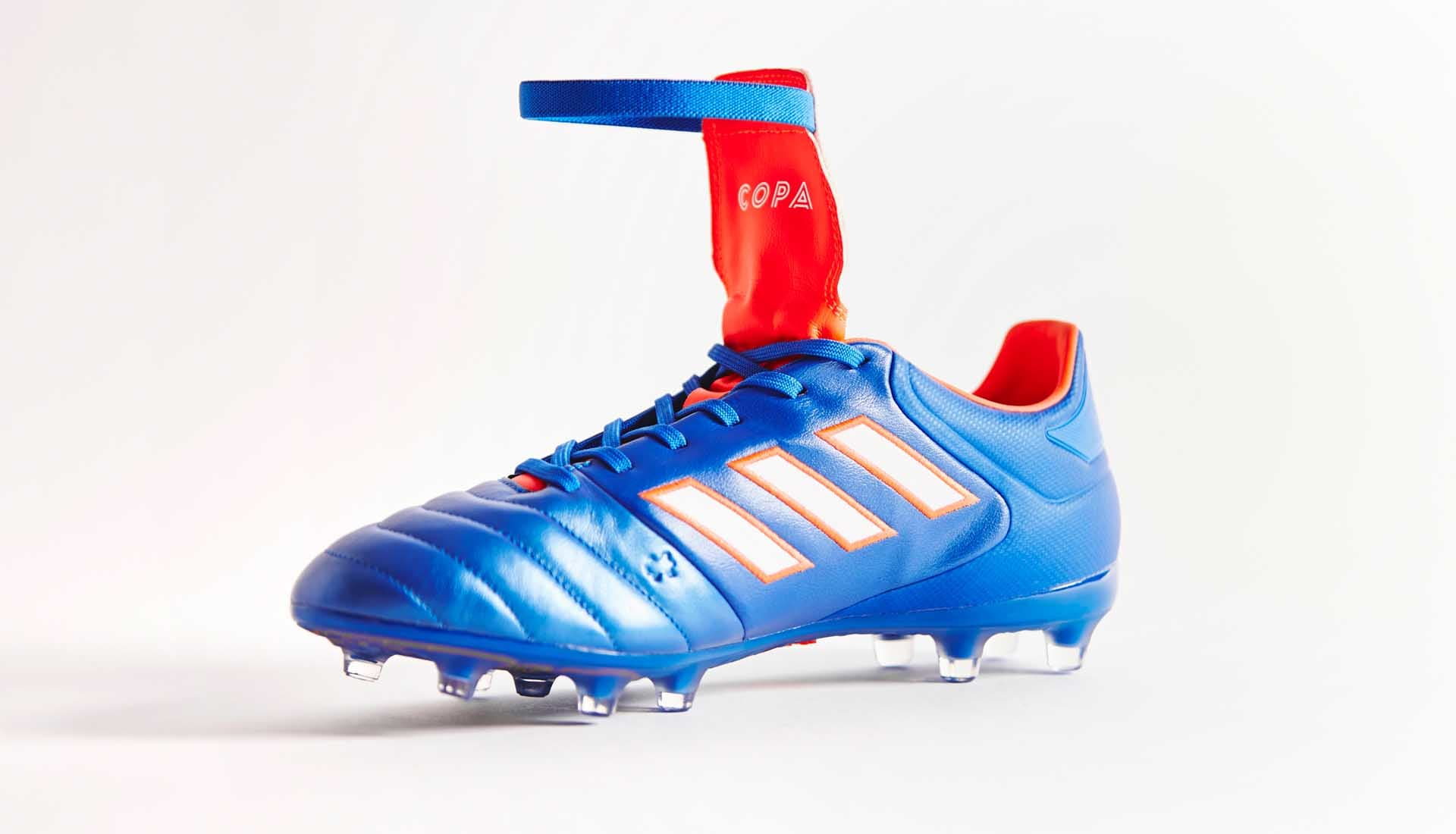 so cheap first rate skate shoes Un nouveau coloris bleu-rouge pour l'adidas Copa Gloro 17