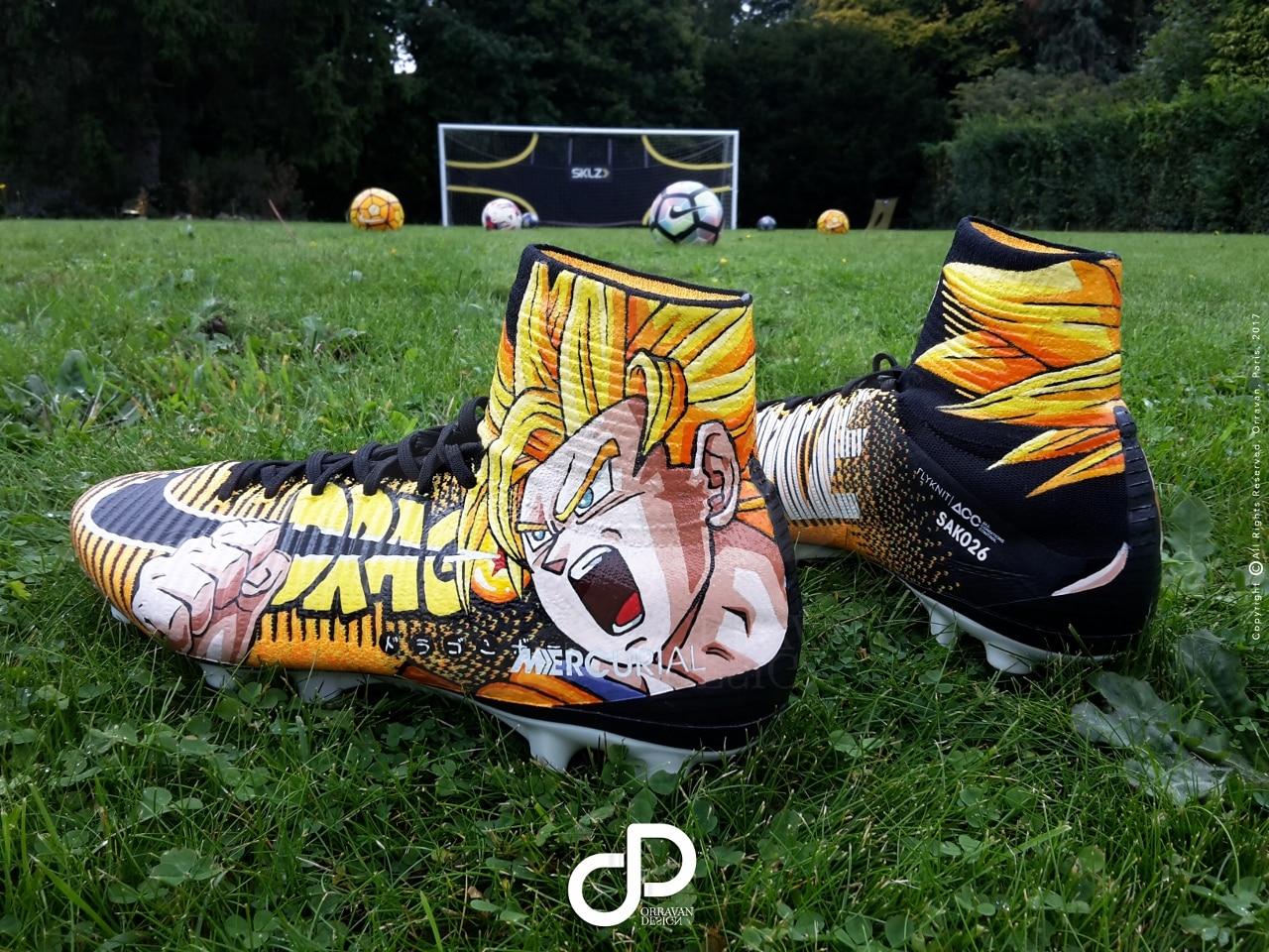 "f4b719da0 Custom Nike Mercurial ""MANGA"" Bakary Sako by Orravan Design ..  Linternational malien a même joué le week-end dernier avec sa paire de  Mercurial Superfly . ..."