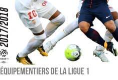 Image de l'article Infographie : les équipementiers de la Ligue 1 (Saison 2017/2018)